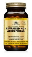 ADVANCED 40+ ACIDOPHILUS (SOLGAR) 60 kaps.