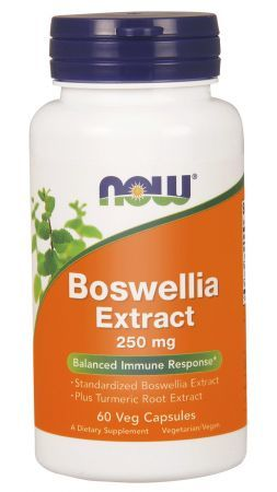 BOSWELLIA EXTRACT 250mg (NOW) 60 kaps.