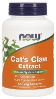 CAT'S CLAW EXTRACT 334mg (NOW) 120 kaps.