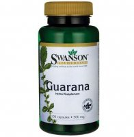 GUARANA 500mg (SWANSON) 100 kaps.