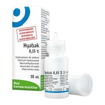 HYABAK KROPLE DO OCZU 10ml