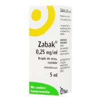 ZABAK KROPLE DO OCZU 0,025% 5ml