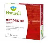 METYLO B-12 500mg (NATURELL) 60 tabl.