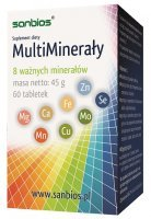 MULTIMINERAŁY SANBIOS 60 tabl.