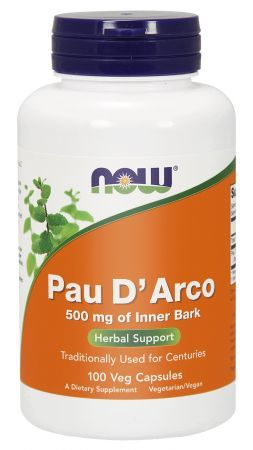 PAU D'ARCO 500mg (NOW) 100 kaps.