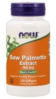 SAW PALMETTO EXTRACT (NOW) 60 kaps.