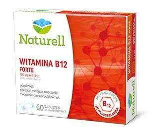 WITAMINA B12 FORTE (NATURELL) do ssania