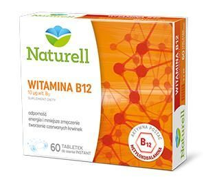 WITAMINA B12 (NATURELL) 60 tabl.