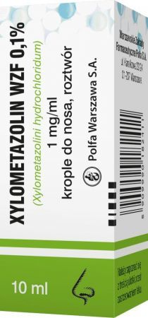 XYLOMETAZOLIN WZF 0,1% 10ml